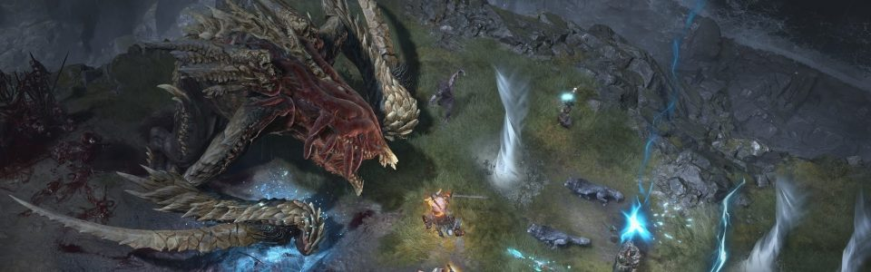 Diablo 4 avrà una struttura da MMO, video gameplay per un boss open world