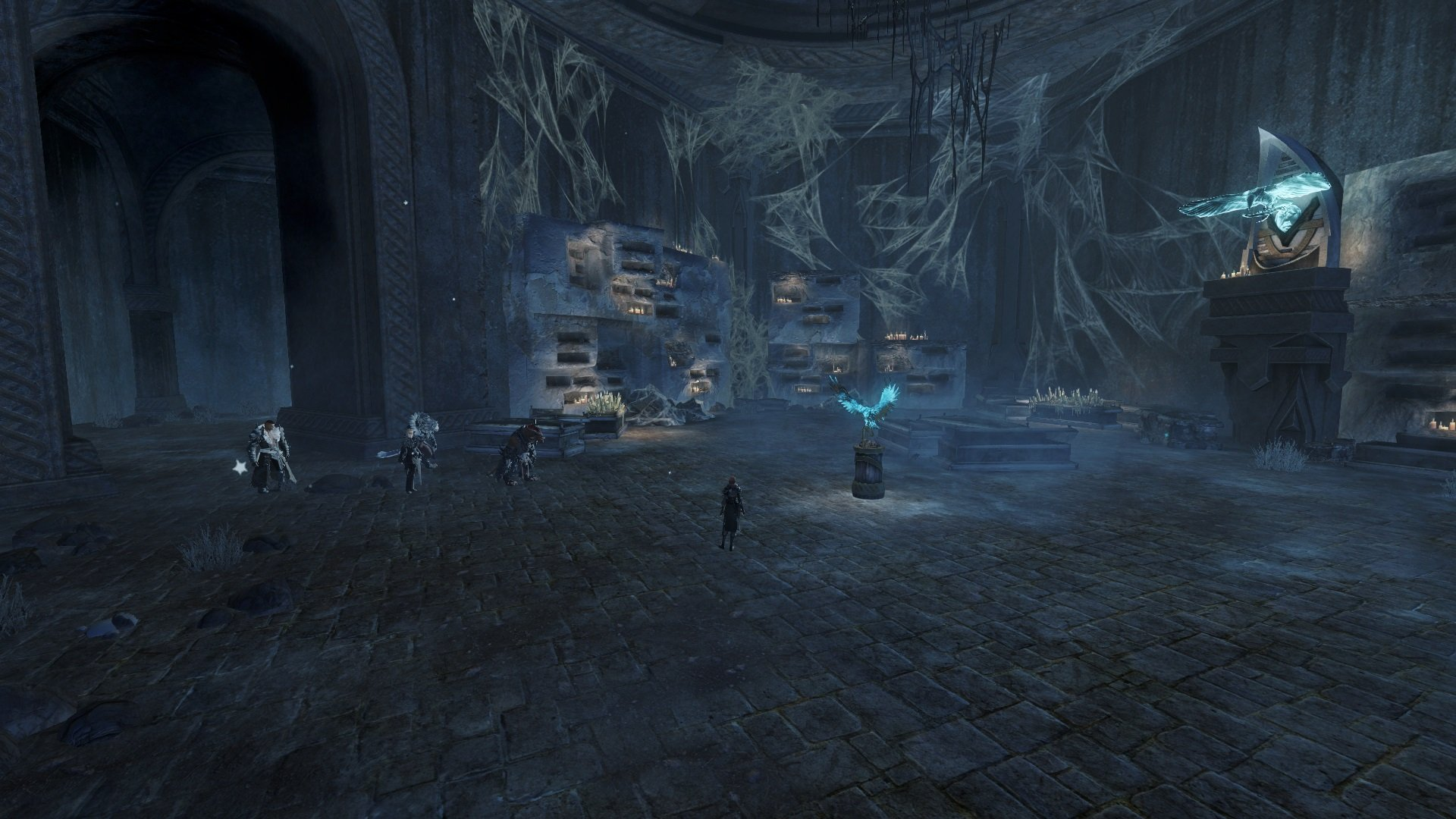 GW2 Whisper in the Dark temple
