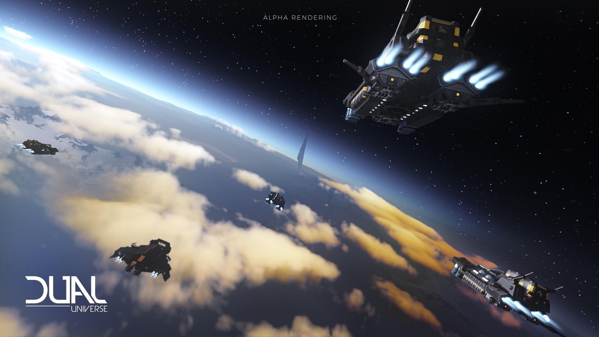 dual universe alpha dual universe MMORPG