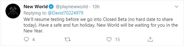 New World beta