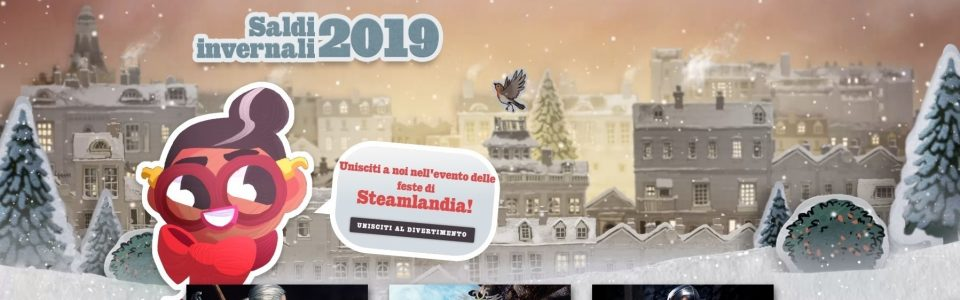 Sono iniziati i Saldi Invernali di Steam, ecco le migliori offerte