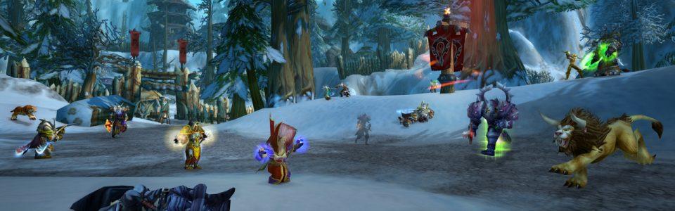 World of Warcraft Classic: live i battleground PvP Warsong Gulch e Alterac Valley