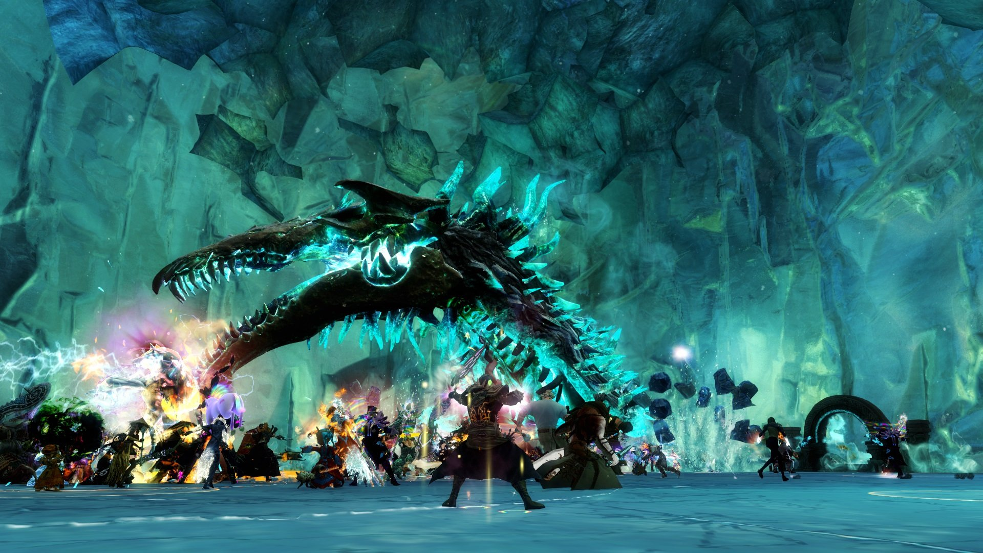 gw2 the icebrood saga Shadow in the Ice Drakkar