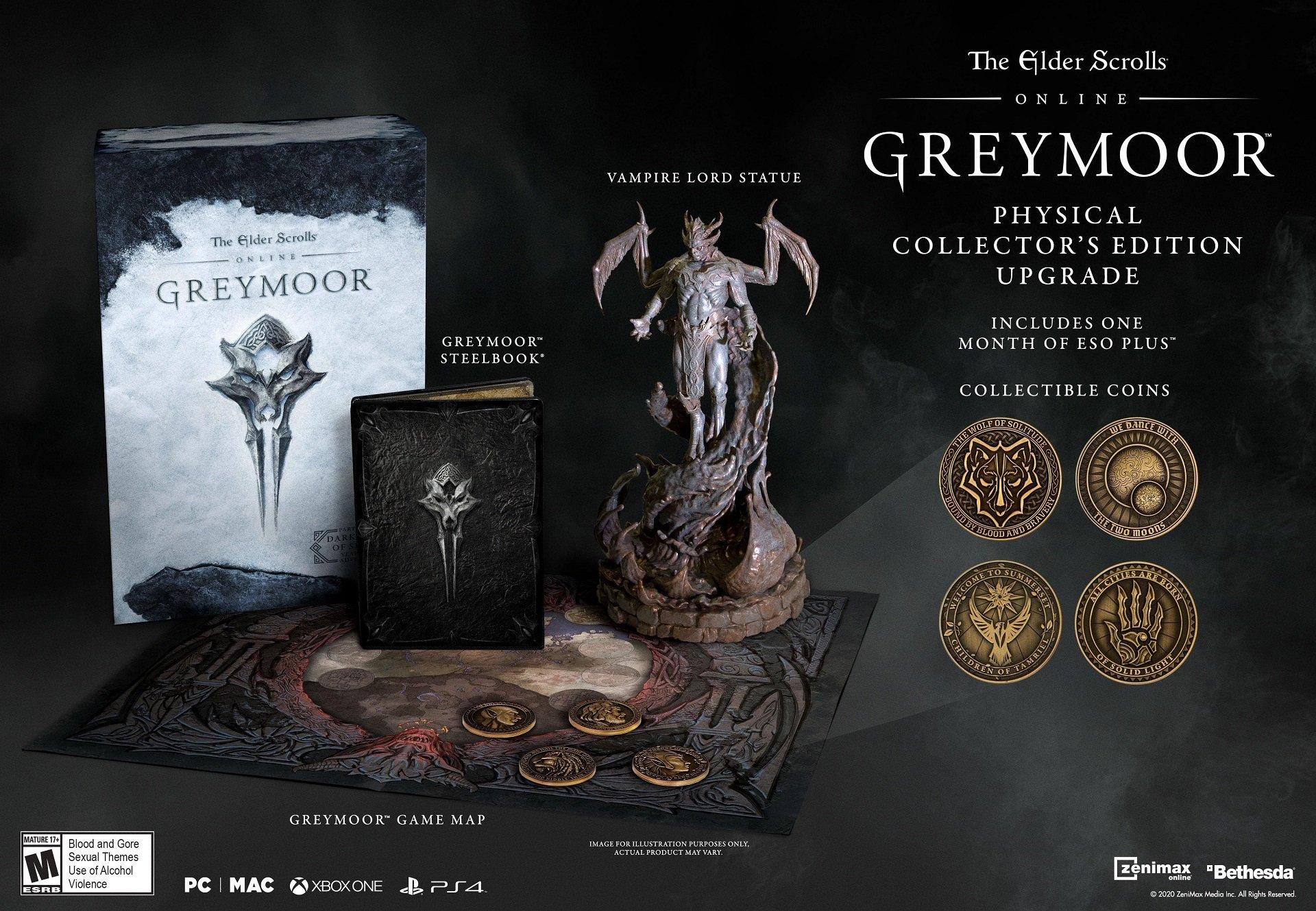 The Elder Scrolls Online Greymoor The Elder Scrolls Online Dark Heart of Skyrim