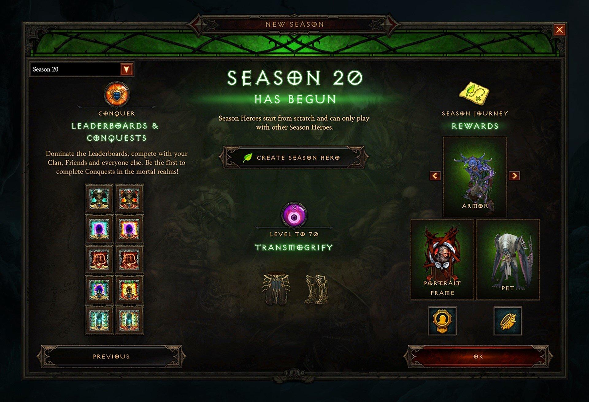 Diablo 3 stagione 20