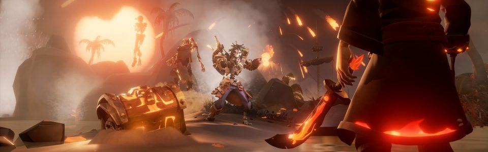 Sea of Thieves: live il nuovo update Heart of Fire