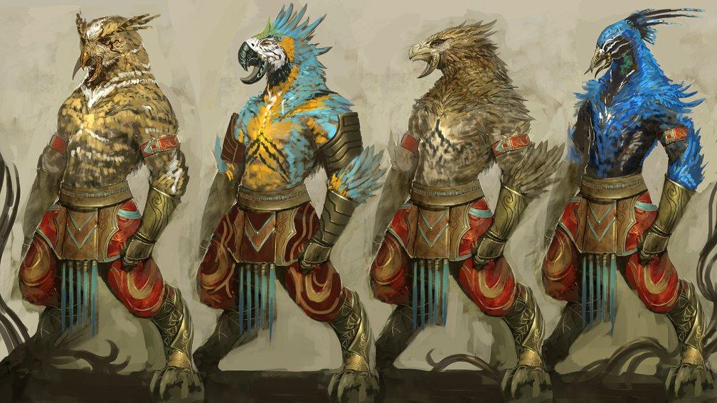Guild Wars 2 Cantha Tengu