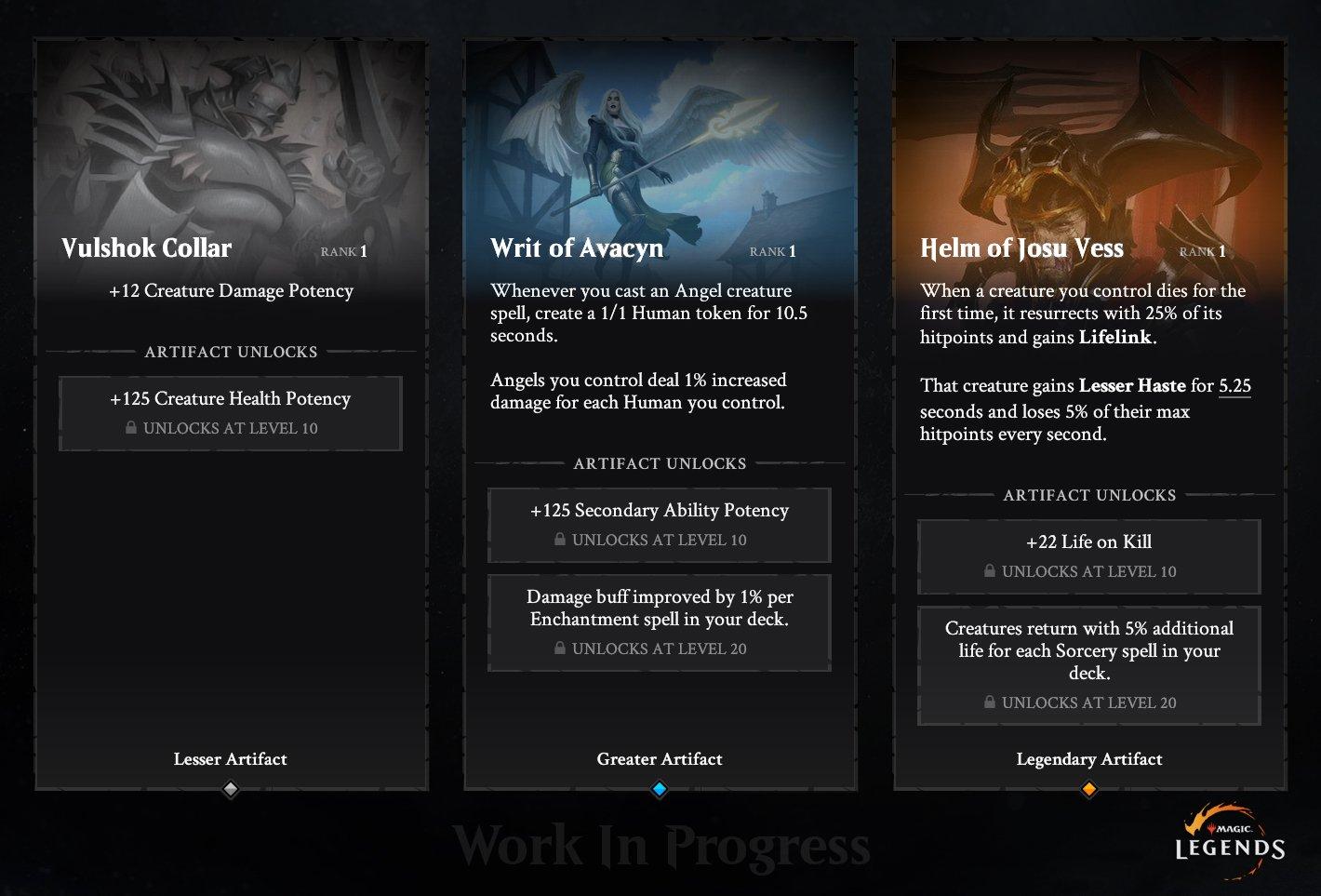Magic: Legends Magic Legends Artefatti 2