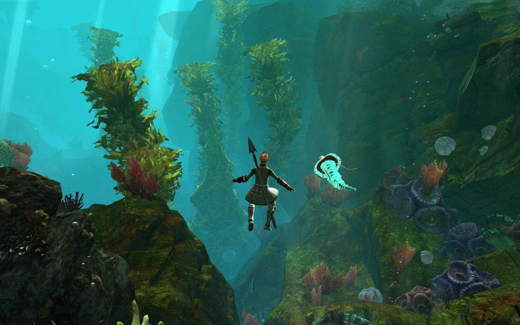 Combattimento acquatico Guild Wars 2 Cantha