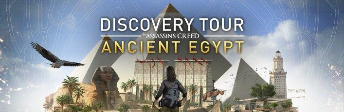 Assassin's Creed Discovery Tour: riscattabili gratis le modalità esplorative di Origins e Odyssey