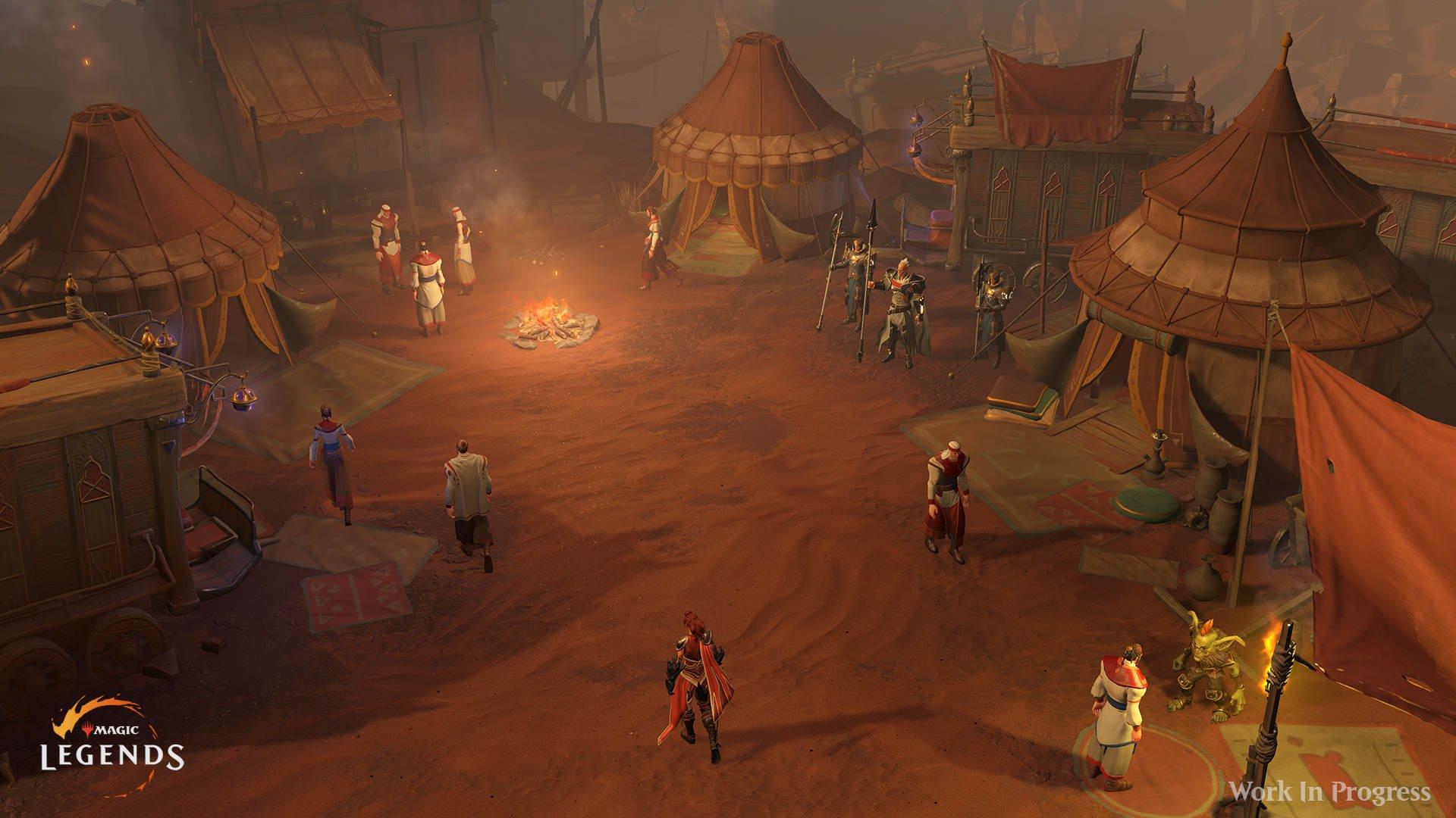 Magic: Legends Magic Legends Overworld Attività schermaglie hub e missioni 1