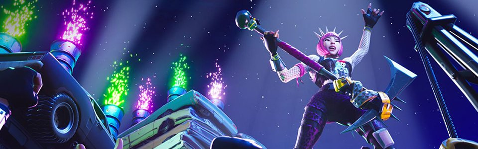 Fortnite: Party Royale con Steve Aoki, Dillon Francis e deadmau5