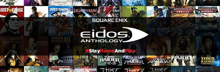 Square Enix Eidos: un bundle di 54 titoli scontato del 95% su Steam