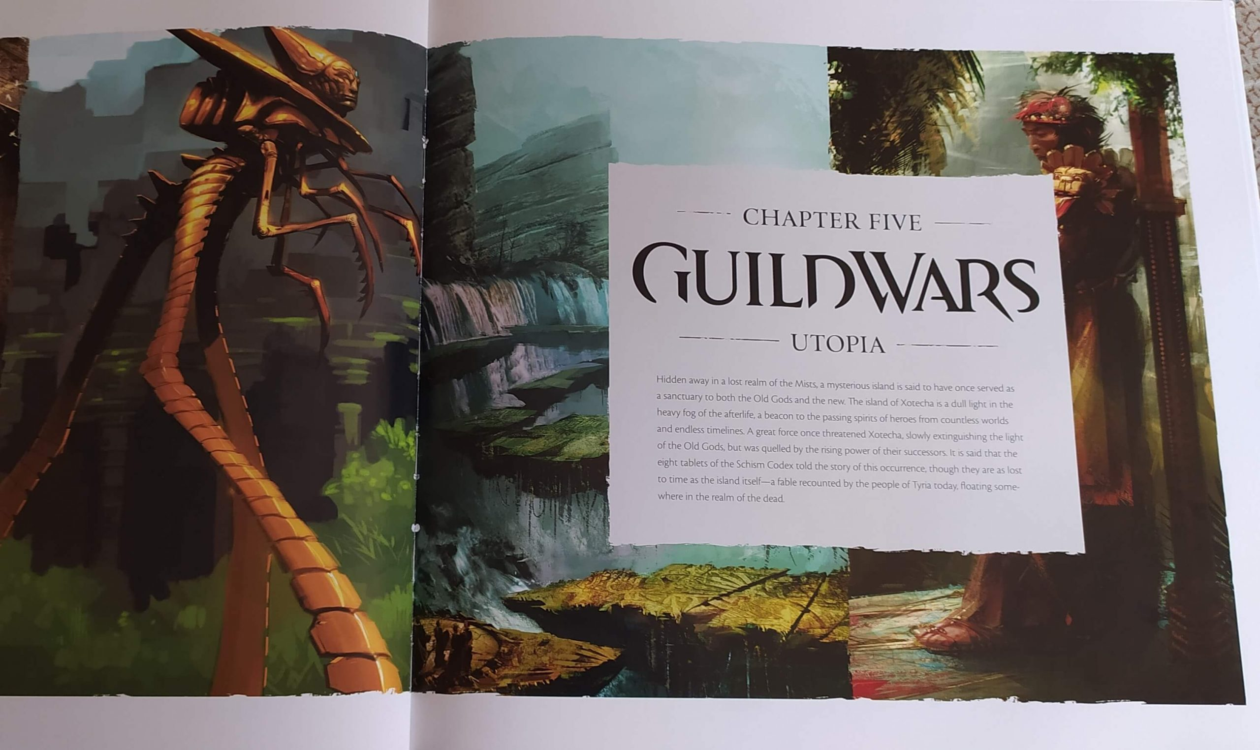 guild wars utopia The Complete Art of Guild Wars: ArenaNet 20th Anniversary Edition guild wars 2