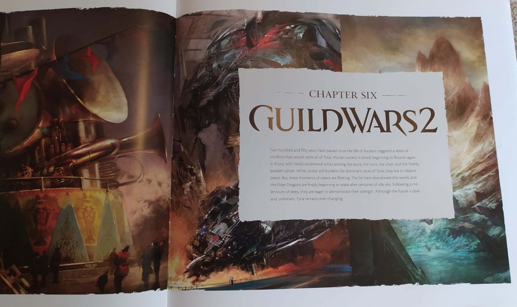 guild wars 2 The Complete Art of Guild Wars: ArenaNet 20th Anniversary Edition guild wars 1