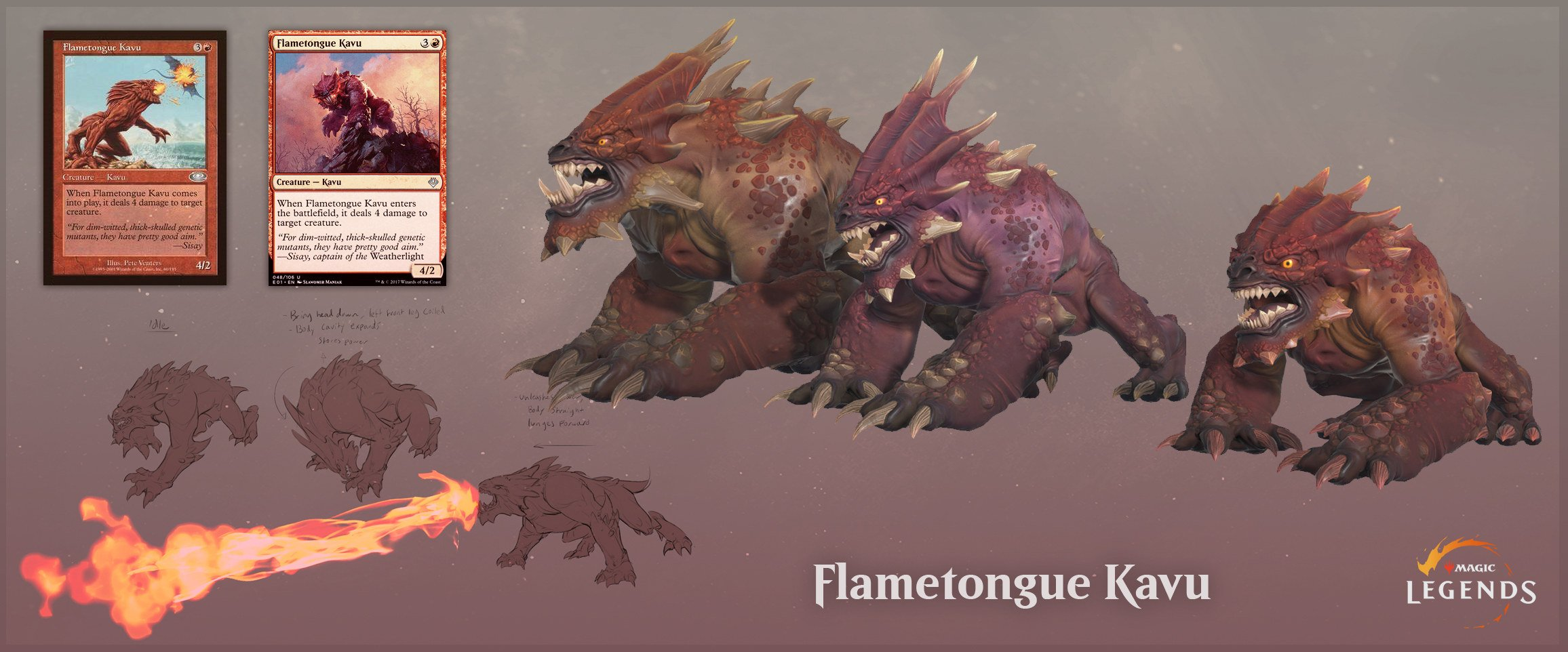 Magic Legends Magic: Legends Shiv e Flametongue Kavu