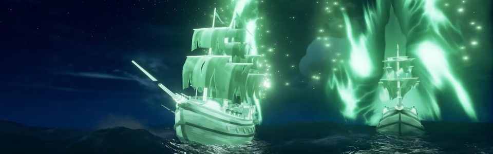 Sea of Thieves: annunciato il nuovo update Haunted Shores