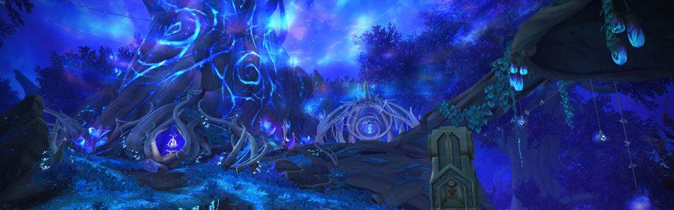 World of Warcraft: sedicesimo anniversario, nuovi video per le regioni di Shadowlands