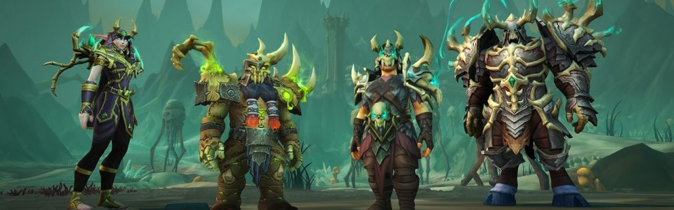 World of Warcraft Shadowlands: anteprima di Maldraxxus e Congrega dei Necrosignori