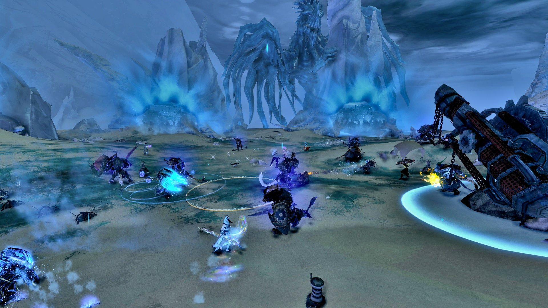 Guild Wars 2 New Claw of Jormag Meta Event Guild Wars 2 Jormag Rising Drizzlewood Coast