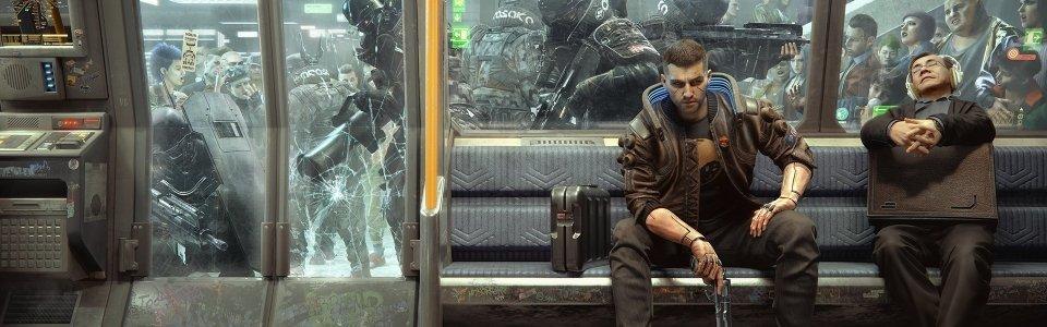 Cyberpunk 2077: rimossa la metropolitana e le corse sui muri