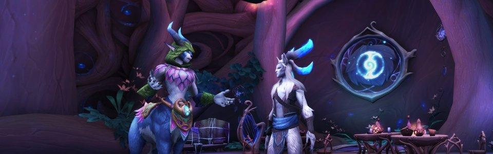 World of Warcraft Shadowlands: dettagli sulle Congreghe e sulla Fauce