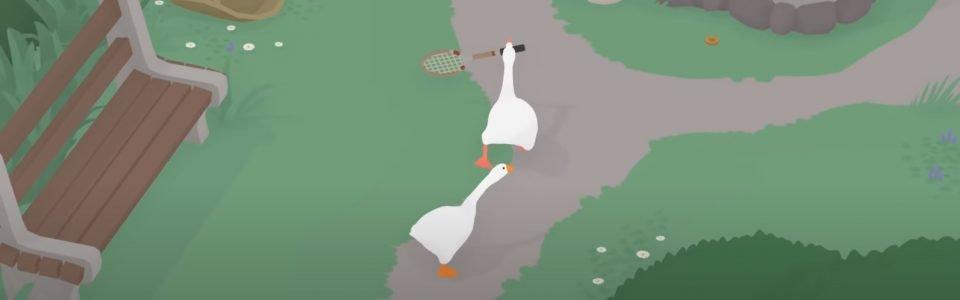 Untitled Goose Game diventa multiplayer e arriva anche su Steam