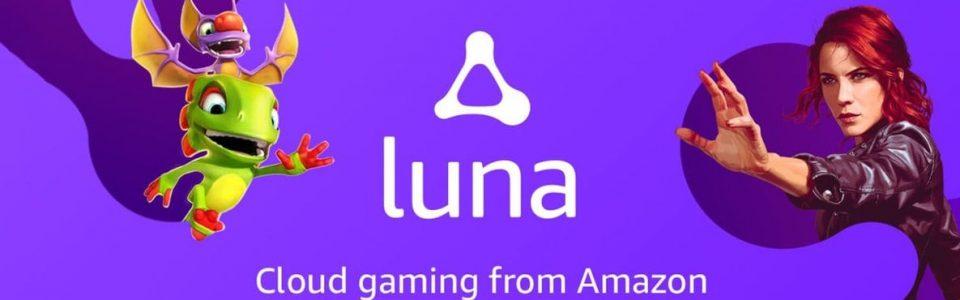 Amazon Luna è il nuovo servizio di cloud gaming di Amazon