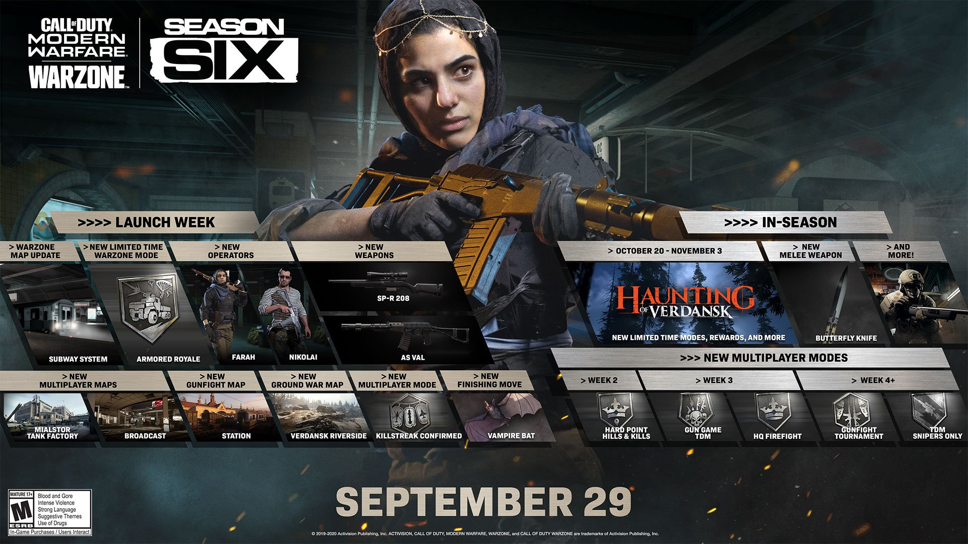 Call of Duty season 6 Call of Duty modern Warfare call of duty Warzone