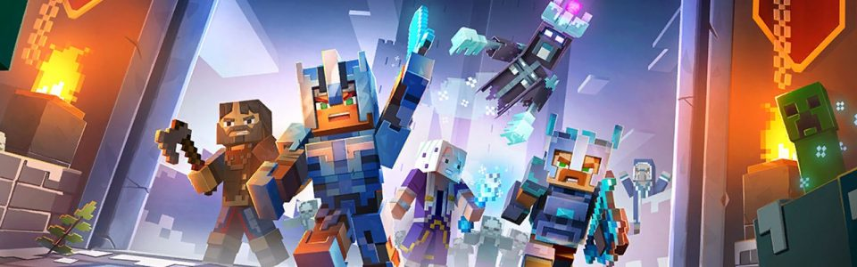 Minecraft Dungeons: live il nuovo DLC Creeping Winter