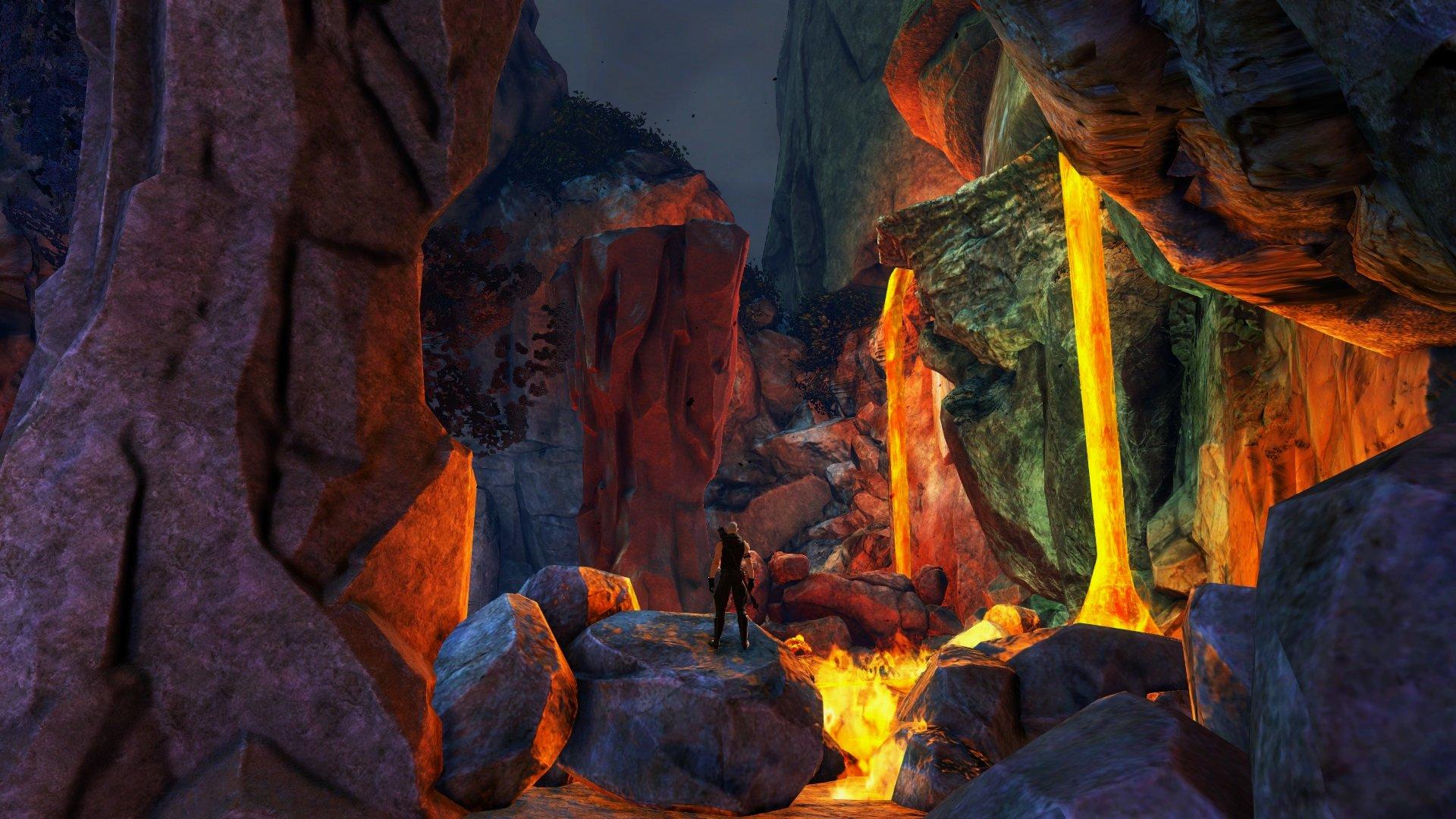 GW2 Sunqua Peak nuovo fractal Cantha fire boss