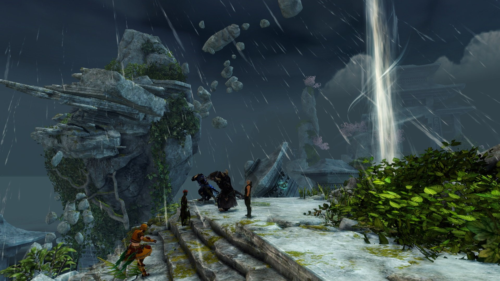 Guild Wars 2 Sunqua Peak nuovo fractal Guild Wars 2 Cantha jumping puzzle GW2