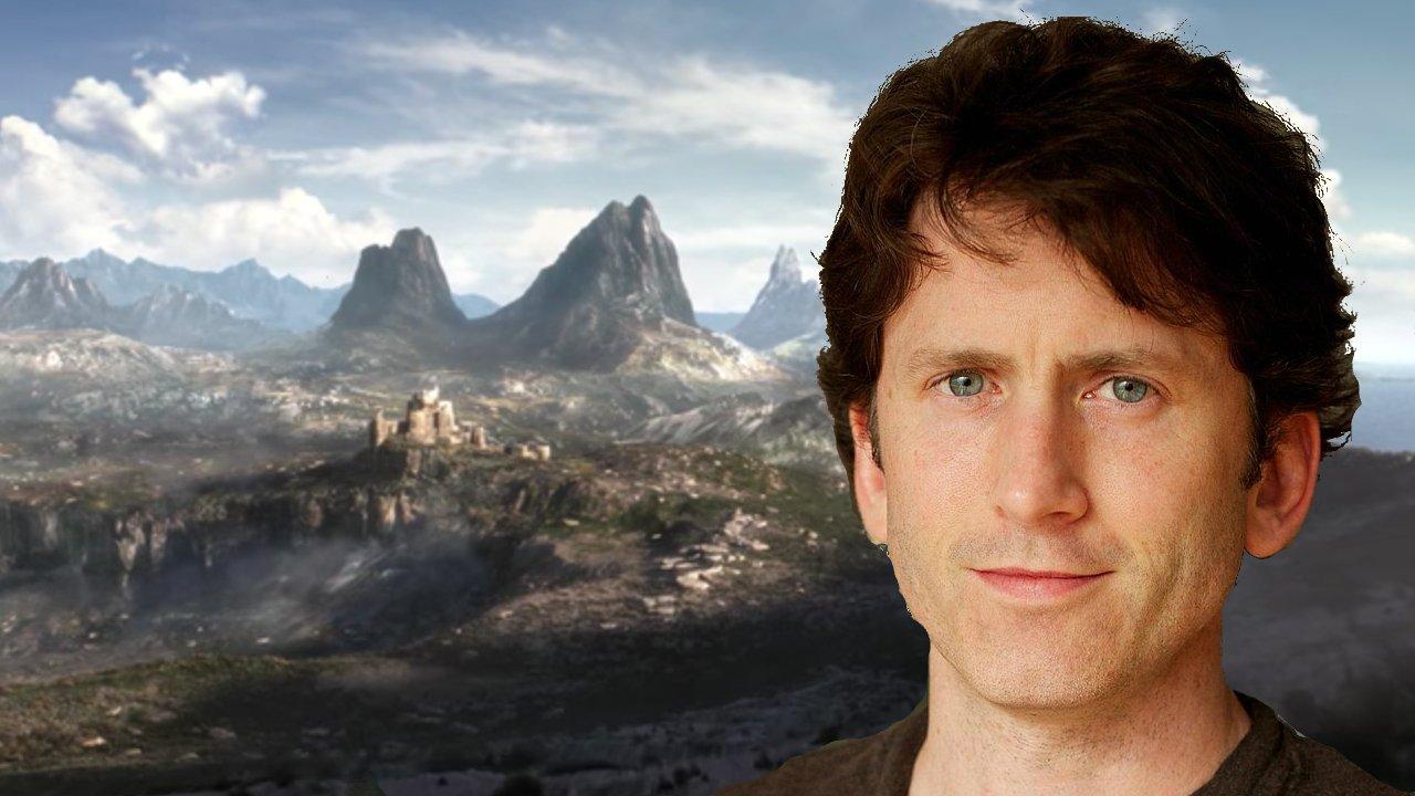 Todd Howard The Elder Scrolls VI starfield TES VI The Elder Scrolls 6