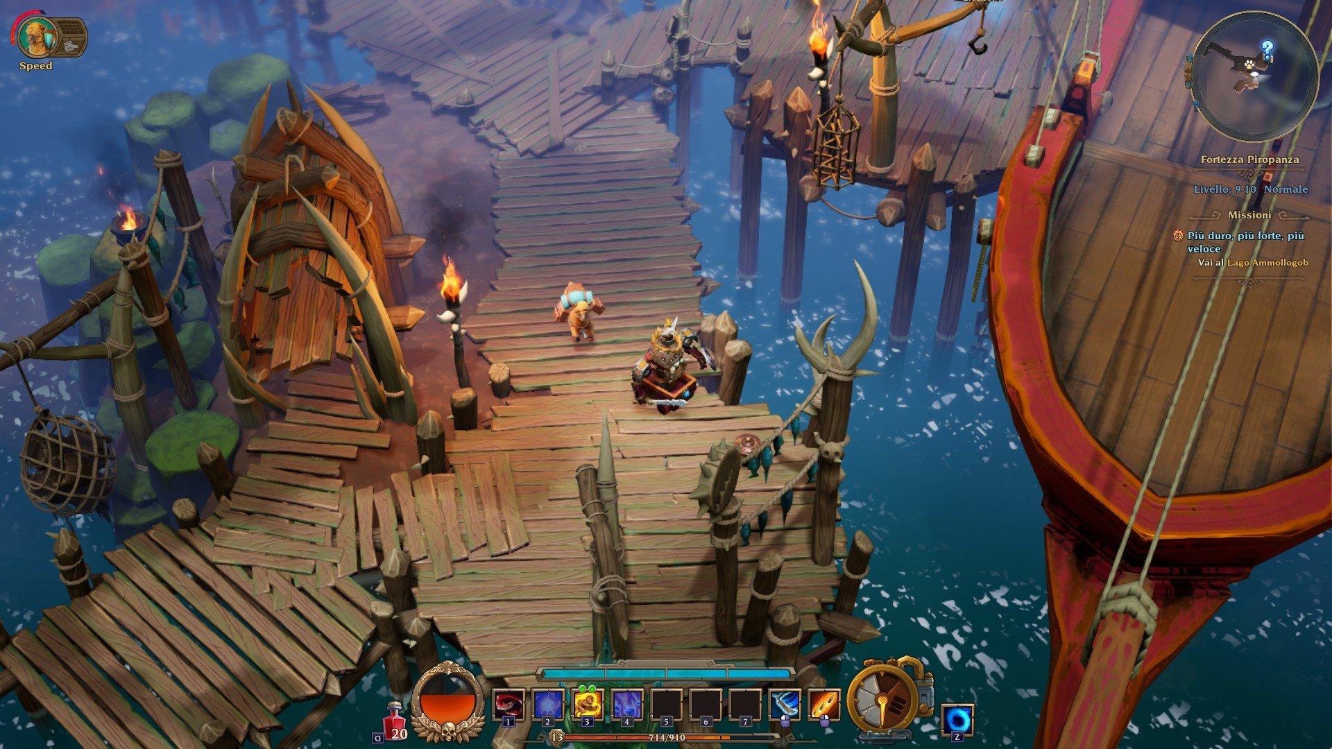 Torchlight 3 La Frontiera Torchlight 3 recensione Torchlight III recensione