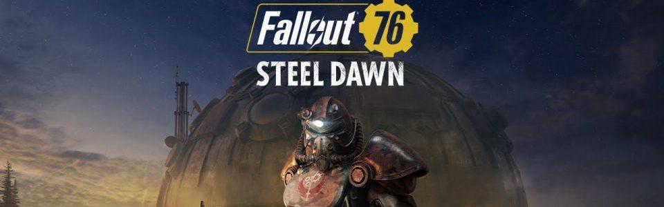 Fallout 76 steel dawn Fallout 76 Alba d'Acciaio