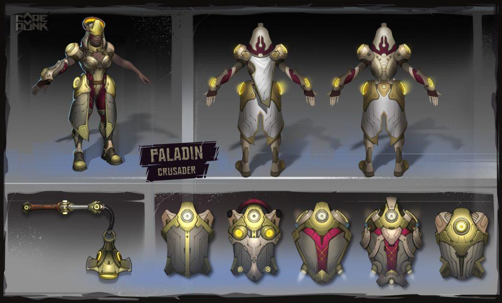 Corepunk classe Paladin spec Crusader