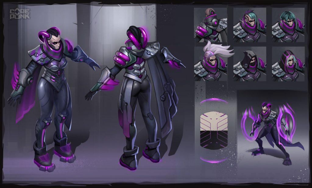 Corepunk personaggio fazione Quaddari
