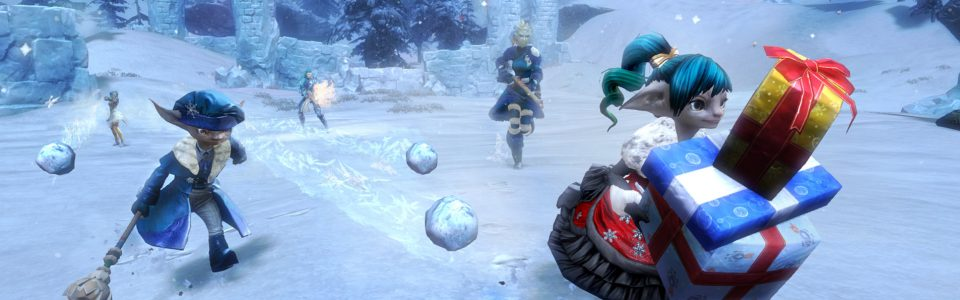 Guild Wars 2: è live il festival A Very Merry Wintersday