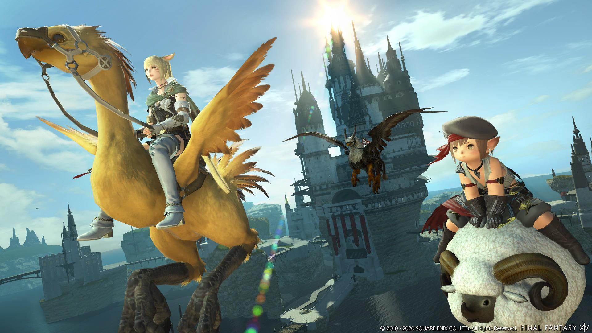 FFXIV final fantasy XIV final fantasy 14 MMOscar 2020 MMO.it oscar 2020 MMO MMORPG
