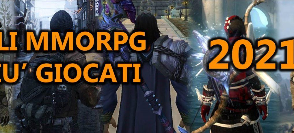 I 5 MMORPG più giocati a inizio 2021