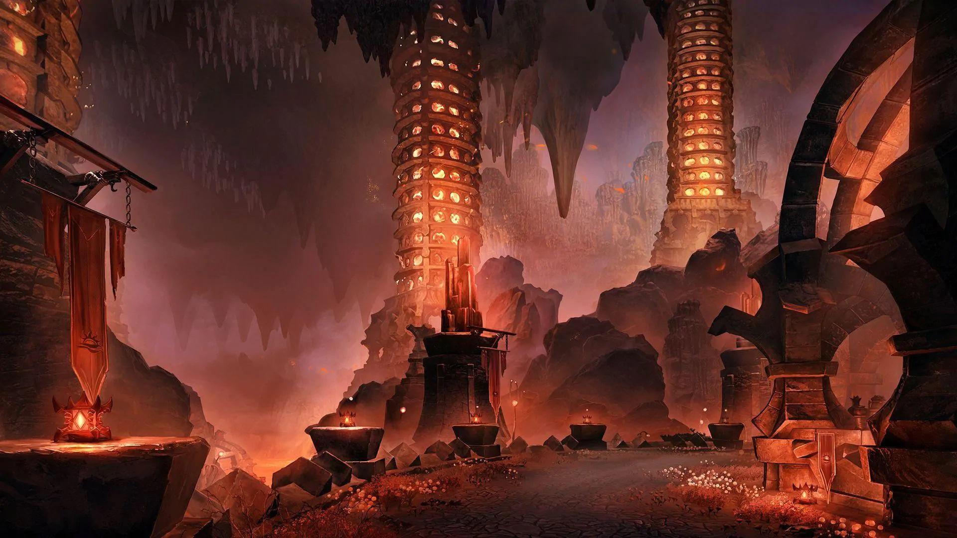 The Elder Scrolls Online Flames of Ambition the cauldron ESO Flames of Ambition the cauldron