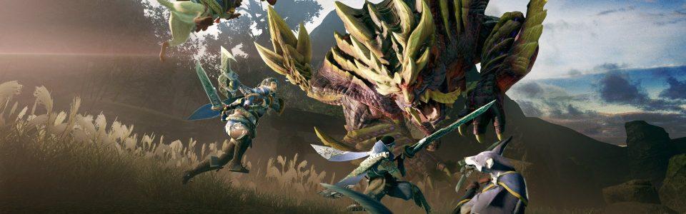 Monster Hunter Rise è disponibile su Switch: in arrivo nuovi mostri e un nuovo finale