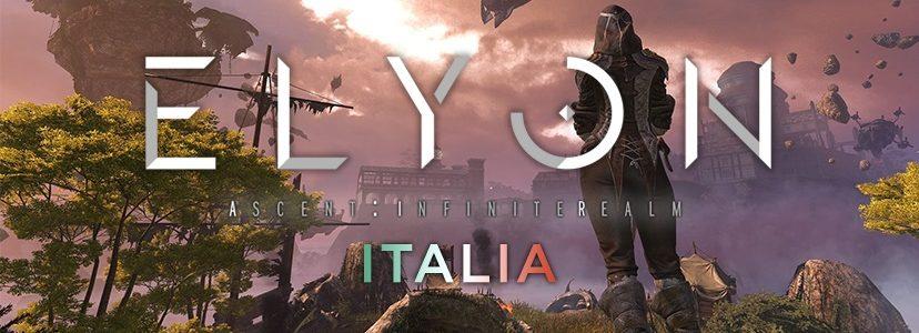 Aperto il gruppo Facebook italiano di Elyon: Ascent Infinite Realm!