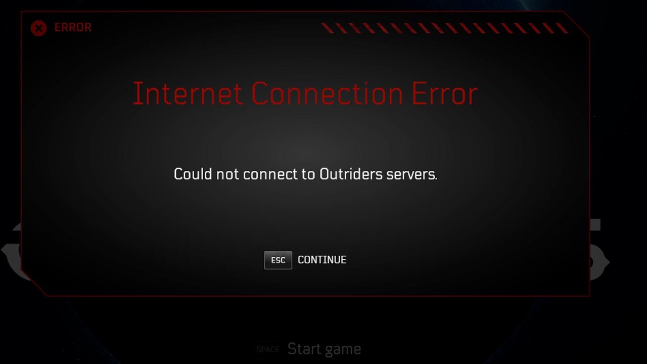 server offline