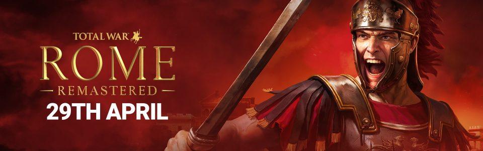 Stasera nuovo streaming di Total War: Rome Remastered!