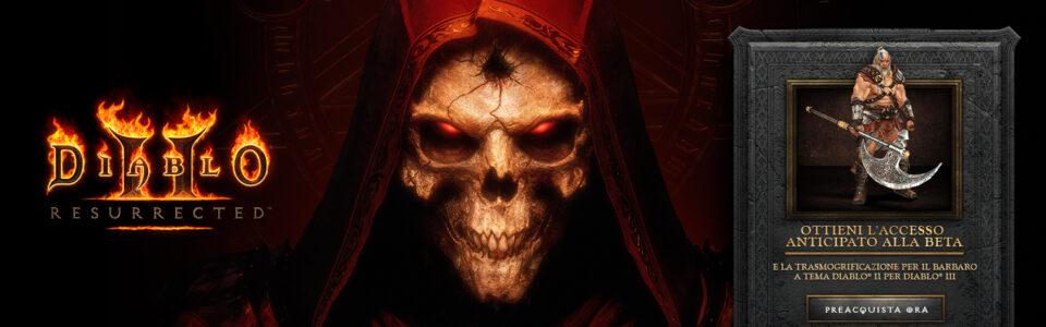Diablo 2: Resurrected uscirà a settembre, open beta ad agosto