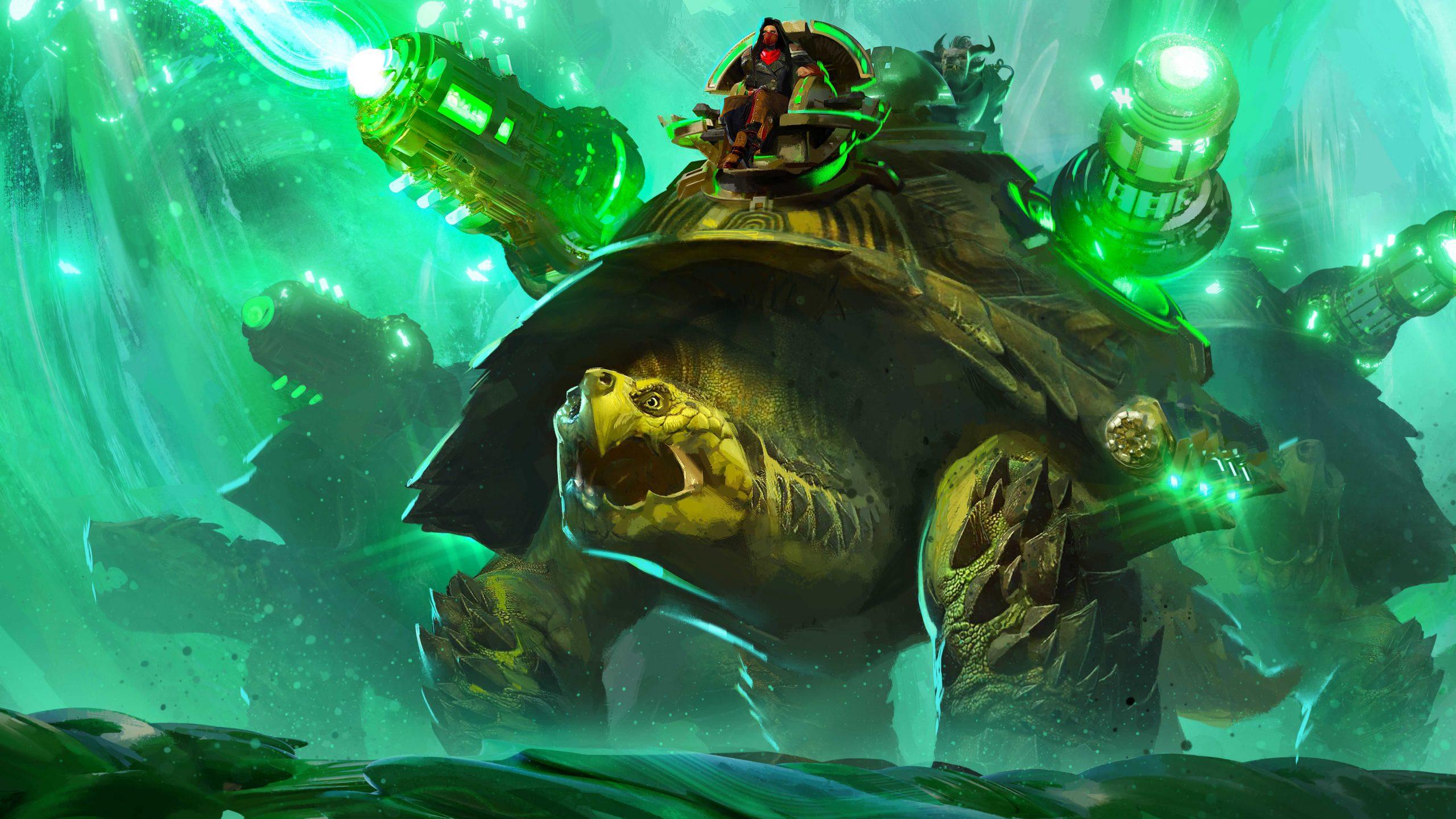 Guild Wars 2 end of dragons GW2 end of dragons GW2 EOD Siege Turtle mount co-op