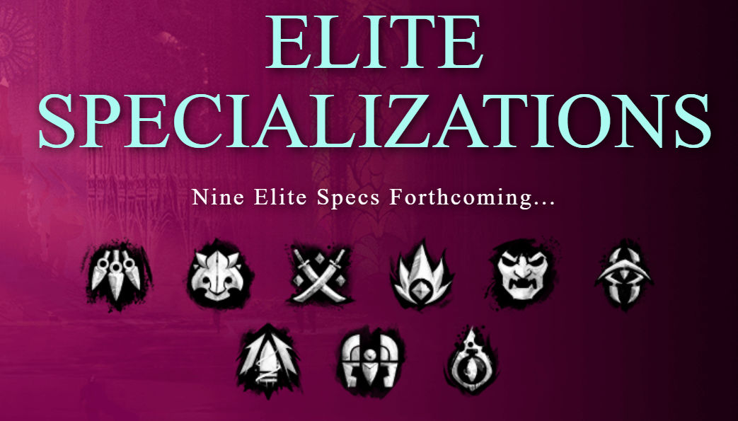 Guild Wars 2 end of dragons GW2 End of Dragons Icone nuove elite specialization