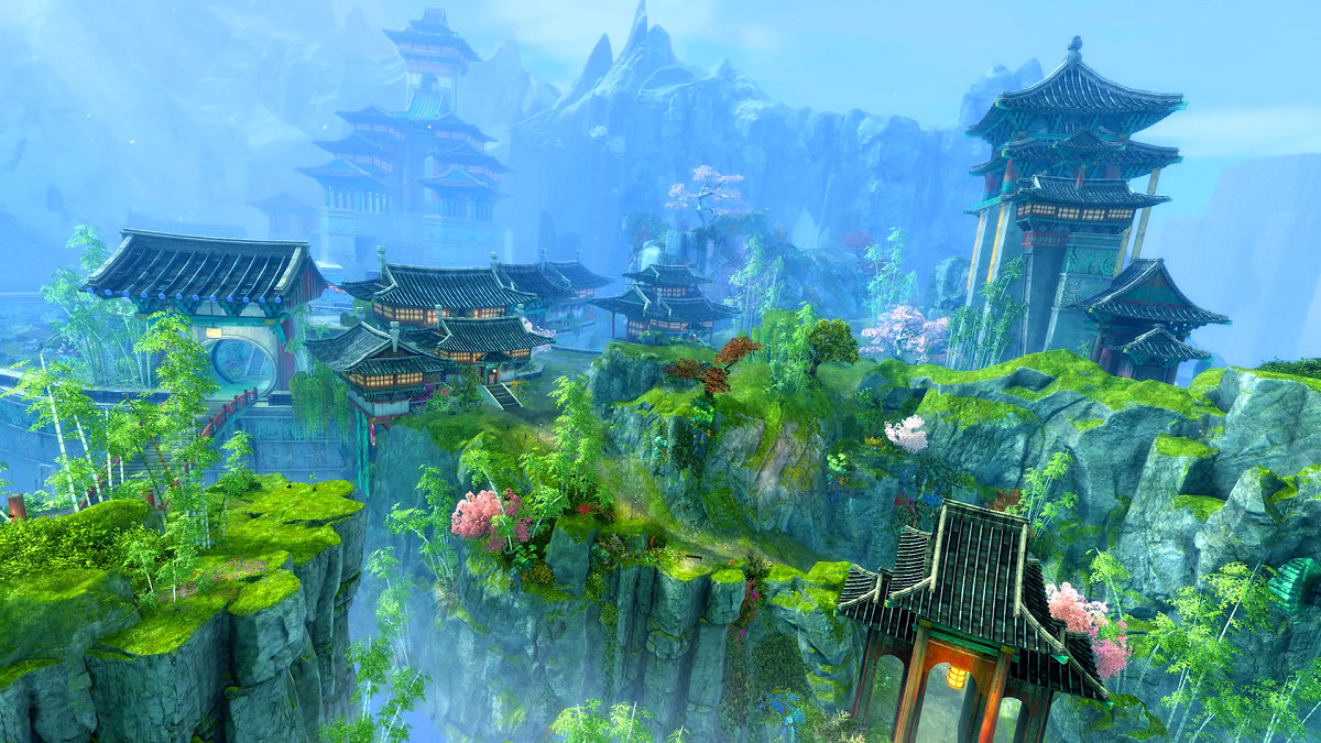 Guild Wars 2 End of Dragons rinviata al 2022 upgrade al motore grafico alleanze WvW entro l'anno GW2 End of Dragons