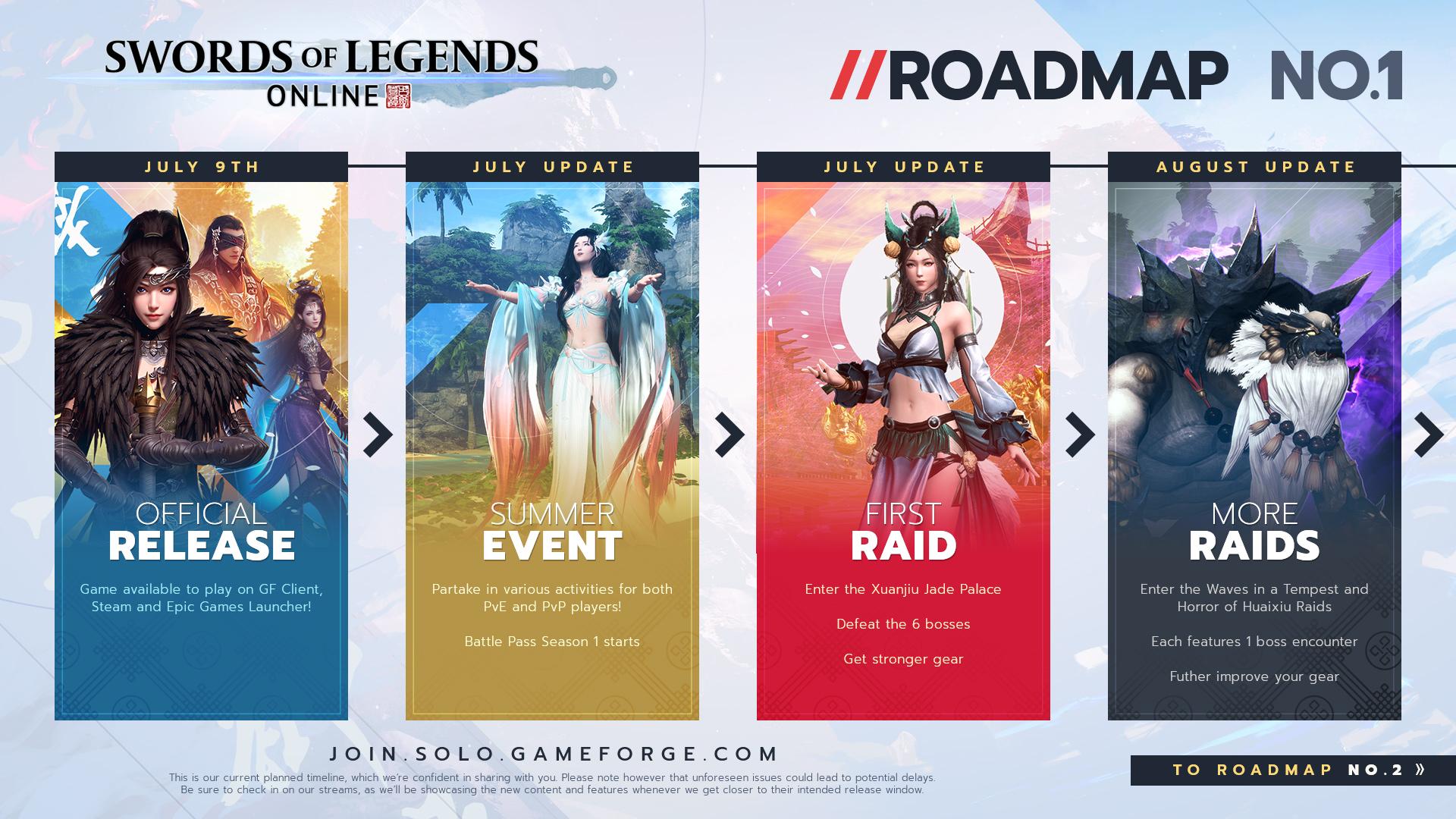 Swords of Legends Online recensione Swords of Legends Online roadmap Swords of Legends recensione